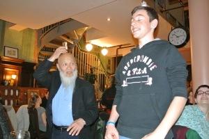 Unser Marc mit Bundestrainer Ochi
