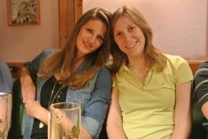 Unsere beiden Damen Nicole und Bianca