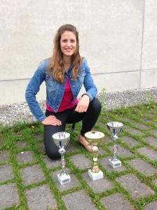 Nicole und ihre Pokalerfolge