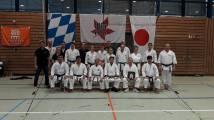 Die japanischen Sensei´s mit den ausrichtenden Mitgliedern des Dojo Edo